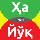 HA yoki YO'Q icon