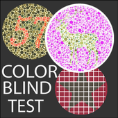 Color Blindness Test, Ishihara Color Blind Test icon