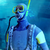 Scuba Diving Simulator- Shipwreck Underwater World icon