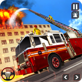 Fire Truck Driving icon