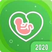 Pregnancy App 🤰  Baby countdown timer to due date icon