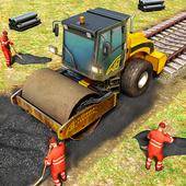 Train Station Construction Railway icon