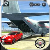 Airplane Pilot Car Transporter icon