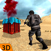 Fire Battleground Survival Shooting Squad Games icon