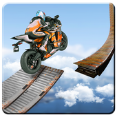 Bike Impossible Tracks Race: 3D Motorcycle Stunts icon