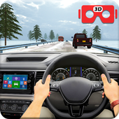 VR Traffic Racing In Car Driving icon