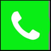 Dialer IOS12 style icon
