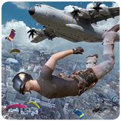Free survival: fire battlegrounds battle royale icon