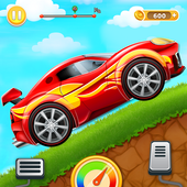 Kids Car Hill Racing icon