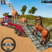 Farm Animal Transport Truck Driving Games icon