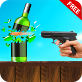 Ultimate Real Bottle Shooting:Free Shooting Games icon