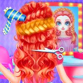 Little Princess Bella Girl Braid Hair Beauty Salon icon