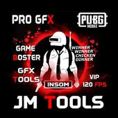JM Tools - GFX Pro For PUBG 120FPS & Game Booster icon