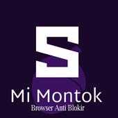 MiMontok Plus : Proxy Browser Without VPN icon