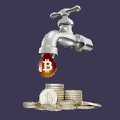 Free Bitcoins icon