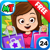 My Town : Shopping Mall Free icon