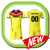 Soccer  Jersey Team Design icon