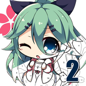 Anime II - Paint by Number Girls n Boys icon