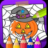 Halloween Coloring Book icon