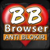 BF-Brokep Browser Anti Blokir - VPN Browser icon