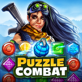 Puzzle Combat: Tactical Matching Action RPG icon
