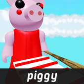 Crazy Escape Piggy Parkour Obby : Game Art icon