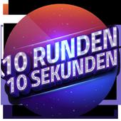 10 Runden - Live Quiz & Geld verdienen icon