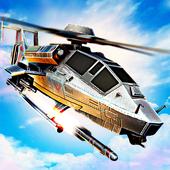 Massive Warfare: Tank vs Helicopter Free War Game icon