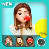 3D Emoji Face Camera - Sweet Snap Emoji Camera icon