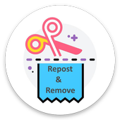 Repost/Remove Link and WaterMark for sharechat icon