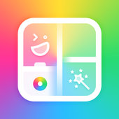 Photo Collage & Grid Maker With Photo Editor & PIP icon