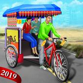 Bicycle Rickshaw Simulator icon