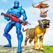 Police Robot Animal Rescue icon