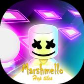 Hop Tiles - Marshmello games icon