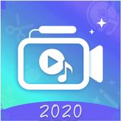 اضافة الموسيقى الى الفيديو icon
