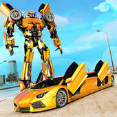 Real Limo Robot Transformation 2019 icon