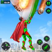 Light Robot Superhero Rescue Mission icon