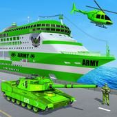 US Army Ship Transport:Tank Simulator Games icon