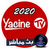 yacine tv 2020 - ياسين تيفي بث مباشر icon