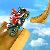 Real Bike Stunt Racer 3D - Motorcylce Games 2020 icon