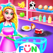 Super Market Clean Up – Girls Cleaning Game icon