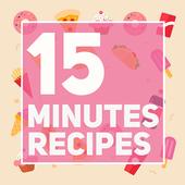 15 Minutes Recipes icon
