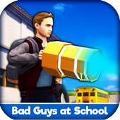 Bad Guys at School Game Walkthrough icon