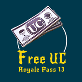 Free UC and Royal Pass 14 icon