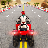 Quad ATV Traffic Racer icon