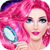 Hair Styles Fashion Girl Salon icon
