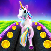 Unicorn Runner 2020: Running Game. Magic Adventure icon