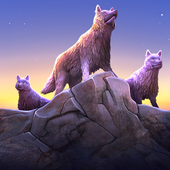 Wolf Simulator Evolution icon