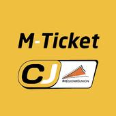 M-Ticket Car Jaune icon