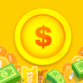 Lucky Now! Scratch, Spin, Play Lottery & Win Money icon